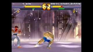 Street Fighter Ex 2 Plus Gameplay PS1
