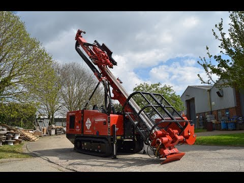 Dando Multitec 4000 MK3 Multipurpose Drilling Rig