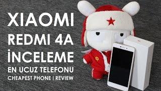 Xiaomi Redmi 4A İncelemesi - En ucuz Telefonu - Antutu - Geekbench - Camera - Gaming