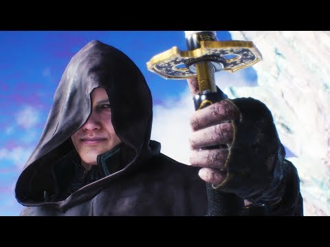 Hooded Vergil New Outfit Battles Cutscenes - Devil May Cry 5 2019 (MOD) thumbnail