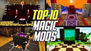 Top 10 Minecraft Magic Mods