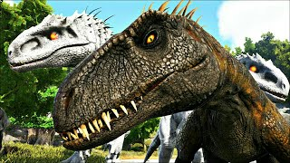 Download Video NOVO Indoraptor! Amigos Indominus Rex! Dinossauros Ark Survival Evolved MP3 3GP MP4