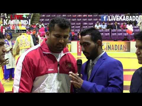 Rana Ali Shan - Pakistani Kabaddi Superstar - Canada Cup 2017