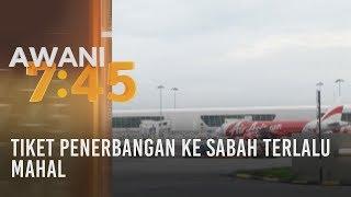 Tiket penerbangan ke Sabah terlalu mahal