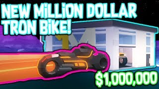 NEW MOTORCYCLE FASTER THAN A BUGATTI!!! *Roblox Jailbreak Winter Update*
