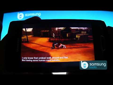 DeathLand3D Action Game for Samsung Wave(Bada OS): Demo on s8530