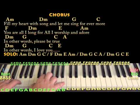 Fly Me To The Moon - Jazzy Piano Cover Lesson With Chords/Lyrics