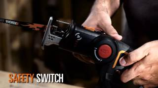 WORX WX550 - 20V JIG/RECIPROCATING SAW - UK English - www.worx.com