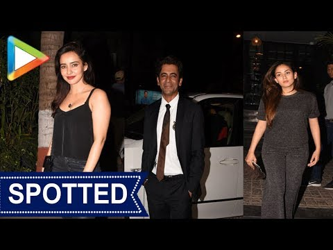SPOTTED: Katrina Kaif, Sonal Chouhan, & Neha Sharma At Soho House
