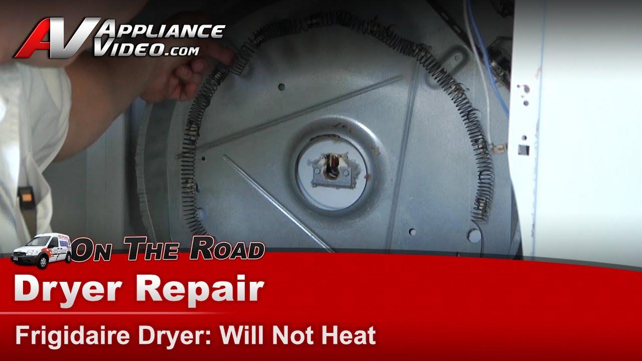 Frigidaire electrolux dryer repair diagnostic will not heat frigidaire electrolux dryer repair diagnostic will not heat gler331as1 youtube publicscrutiny Images