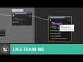 Adding Camera Shake | Live Training | Unreal Engine