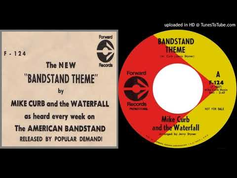 MIKE CURB & THE WATERFALL: Bandstand Theme (Forward Records) 1969 -- California