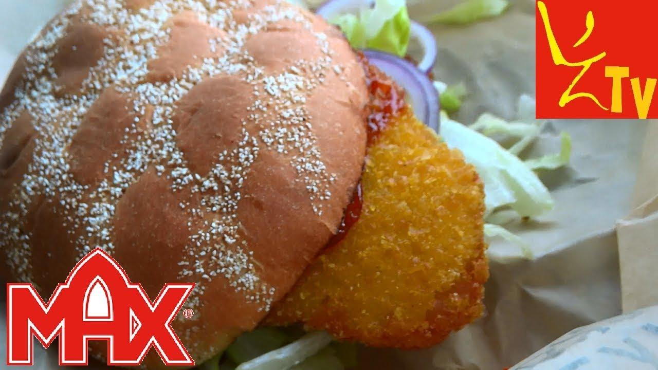 MAX BURGERS Cheesburger i Chrupiący Wege Burger TEST