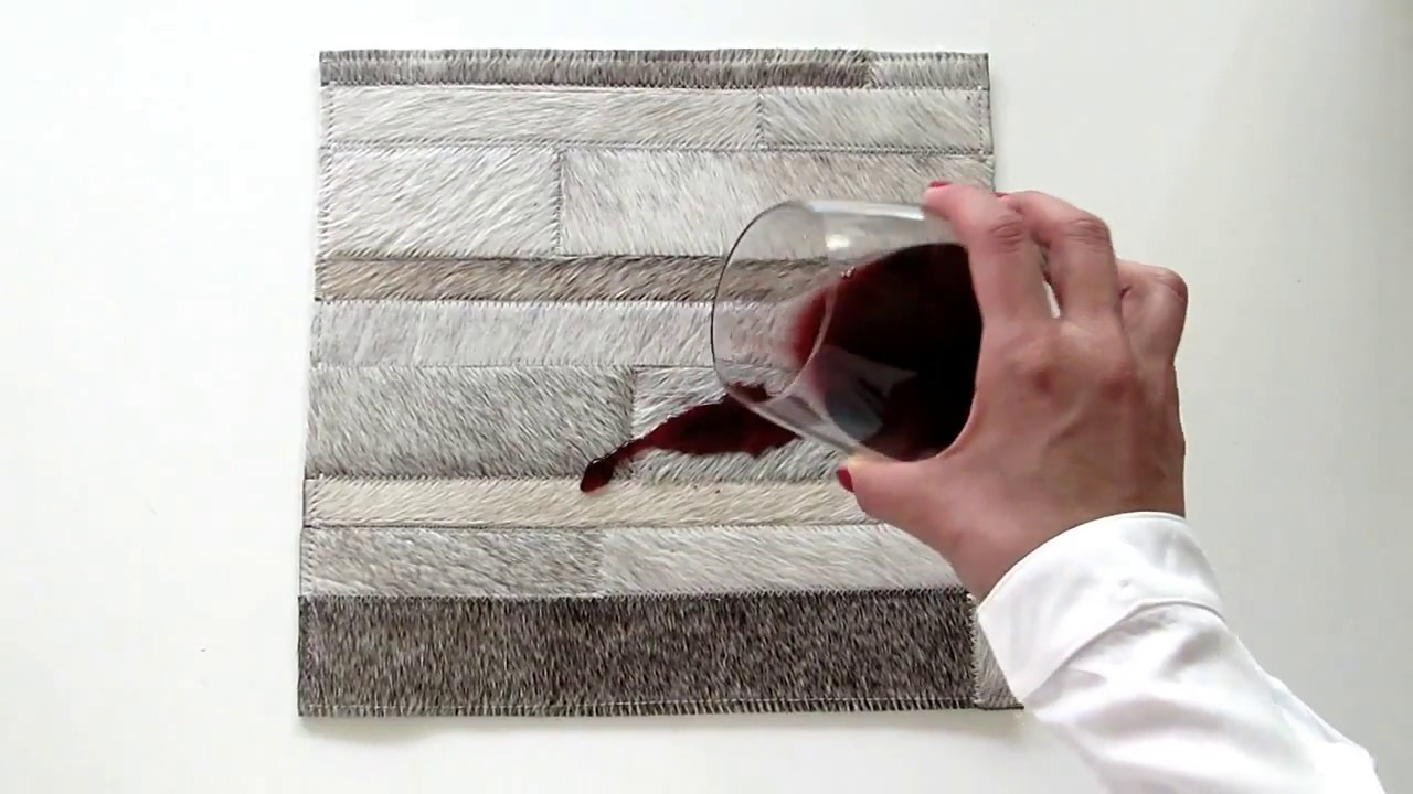 How To Remove And Clean Liquids From Patchwork Cowhide Rugs By