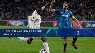 UEFA Champions League | Lyon v Juventus | Highlights