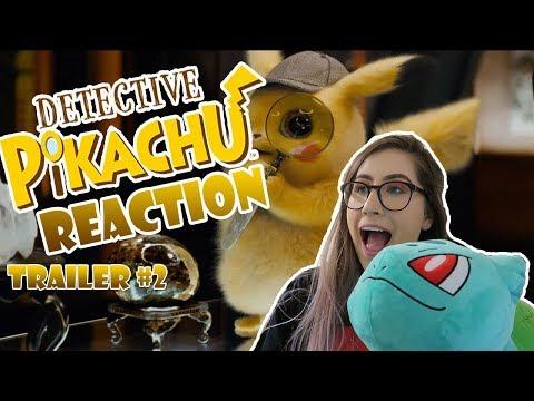 DETECTIVE PIKACHU TRAILER #2 REACTION