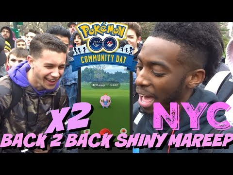 I CANT BELIEVE THIS HAPPENED AGAIN!! POKEMON GO COMMUNITY DAY HIGHLIGHTS thumbnail