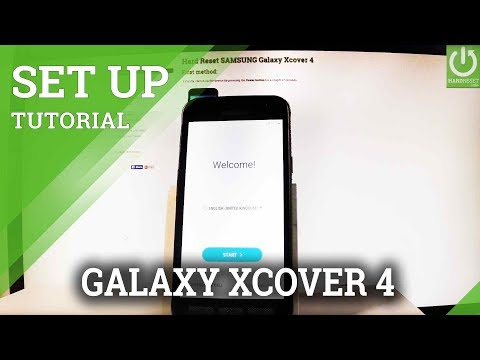 How to Activate SAMSUNG Galaxy Xcover 4 - Set Up / Configuration