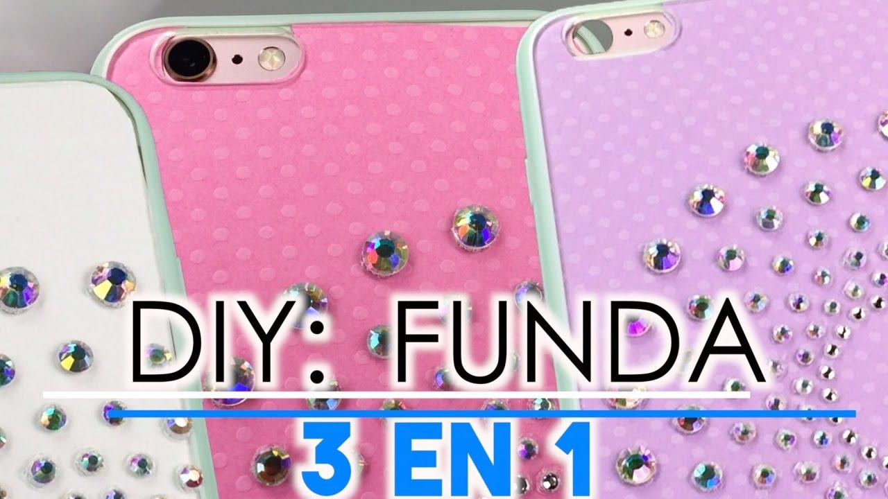 Fundas para celular con pompones de colores iPhone 6 Plus