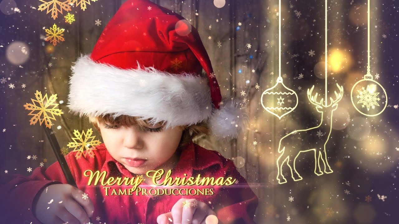 free template sony vegas pro 11 - 12 - 13 merry christmas ii [tame, Powerpoint templates