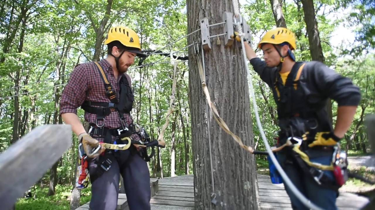 WVU Outdoor Education Center Zip line 6-26-16 & WVU Outdoor Education Center Zip line 6-26-16 - YouTube