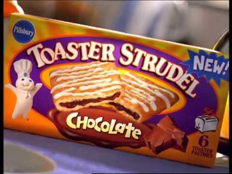Pillsbury Toaster Strudel Glasses 2000 mercial