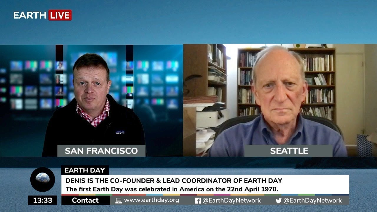 Denis Hayes, Co-Founder of Earth Day.
