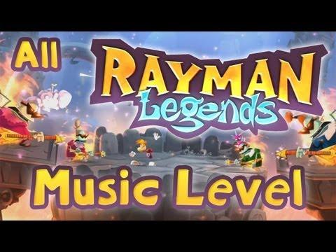 Rayman Legends - Alle Musik Level [Wii U]