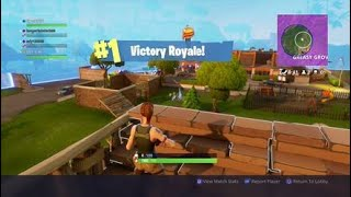 A tiny clip of me winning the battle royale game