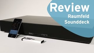 Raumfeld Sounddeck review (Dutch)