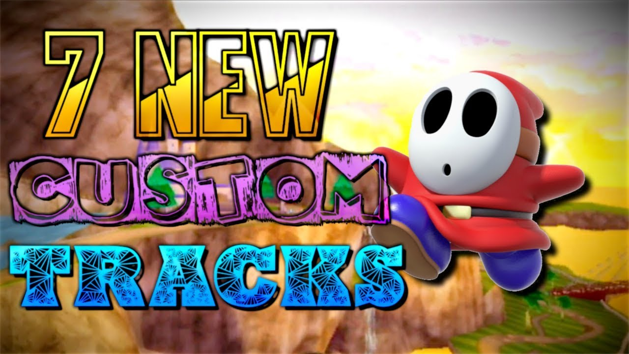 Video 7 Unbelievable New Mario Kart Wii Custom Tracks