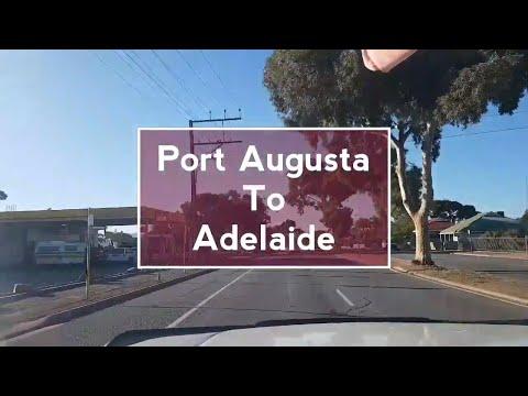 Roadtrip from Port augusta to adelaide, Australia