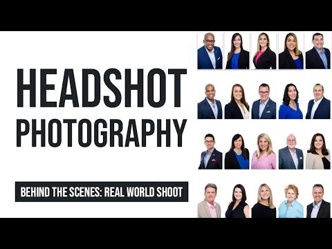 How To Shoot Corporate Headshots : Tips And Tricks