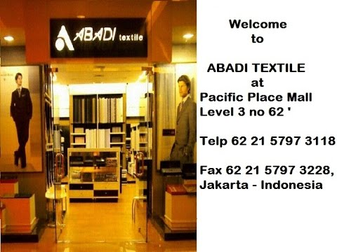 Ferri@Your Tailor at Abadi Pacific Place Mall Jakarta
