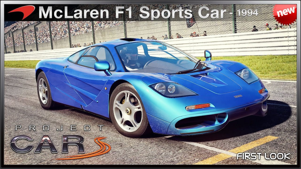 Project Cars New Mclaren F1 Sports Car 94 First Look Youtube