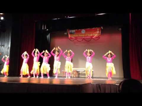 Dance of Lights for Festival of Lights - Deepavali 2013