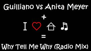 Guilliano vs Anita Meyer   Why Tell Me Why Radio Mix
