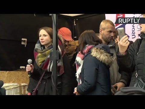 В Варшаве проходит антиправительственный митинг
