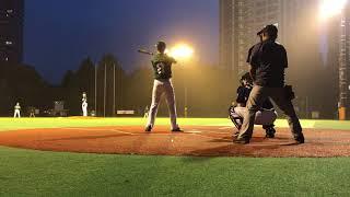 20180623 연습경기 @西戸山野球公園 vs 新宿エヴァー 12:9 패.