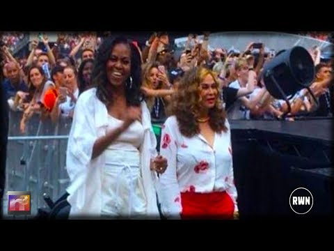 Michelle Caught At Concert With Daughters Teaching Them Gross Thing To Do
