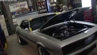 1968 Camaro Countdown to SEMA Show 2011 V8TV Video: It's Almost Finished!