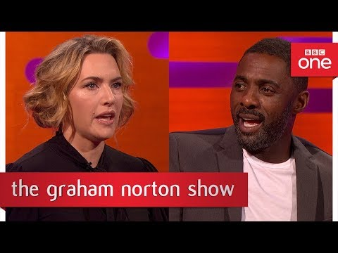 Idris Elba told Kate Winslet to keep her socks on during a sex scene - The Graham Norton Show: 2017