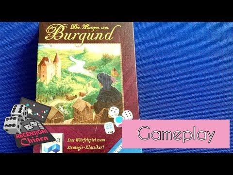 The Castles of Burgundy: The Dice Game (tutorial, gameplay e commento) - Recensioni di Chiara