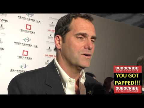 Andy Buckley at the LA Art Show And Los Angeles Fine Art Show's 2016 Opening Night Premiere Party at streaming vf
