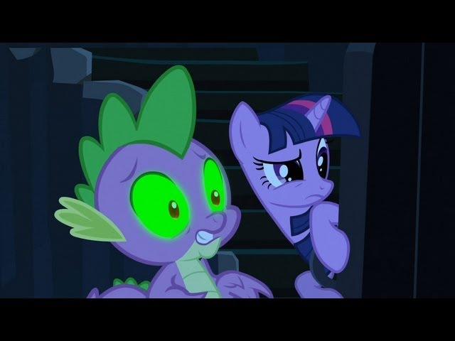 Spike & Twilight Sparkle - Spikes worst fear