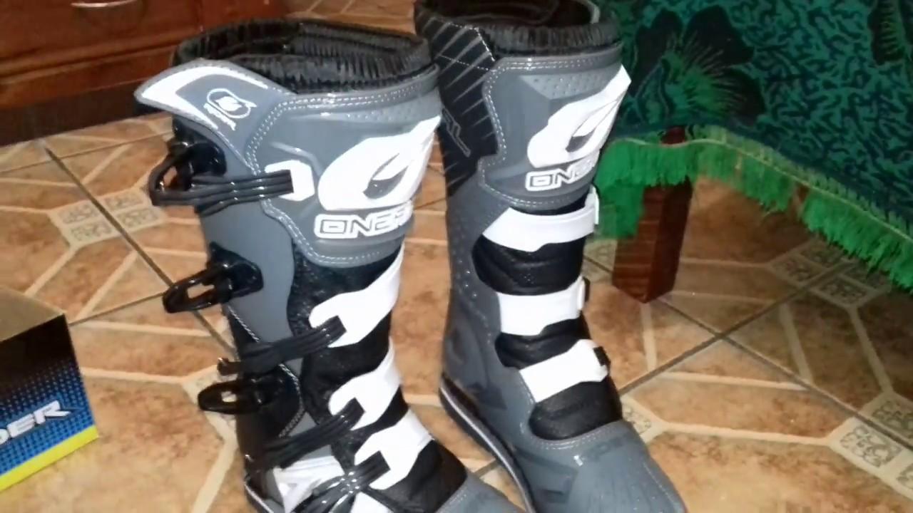 a18278adc4baa Unboxin botas motocross mx - enduro Oneal the Rider modelo 2018 ...
