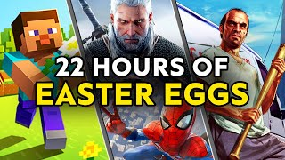 22 HOURS of Video Game Easter Eggs