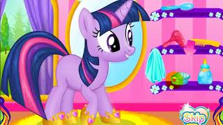 Twilight Sparkle Makeover   Game Tutorial(walkthrough)