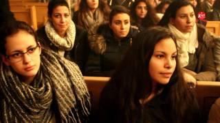 عظة نيافة الانبا كيرلس اسقف ميلانو كيف نعيش منتصرين في العالم لشباب النمسا 05 12 2015