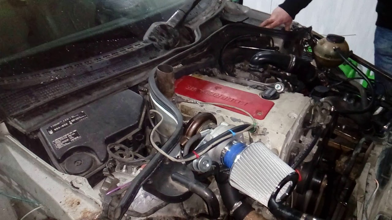 First start Mercedes CLK 230 Turbo GT28